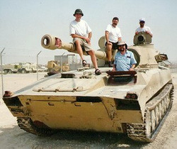 Hollywood Rodeo Band, Kuwait 1991