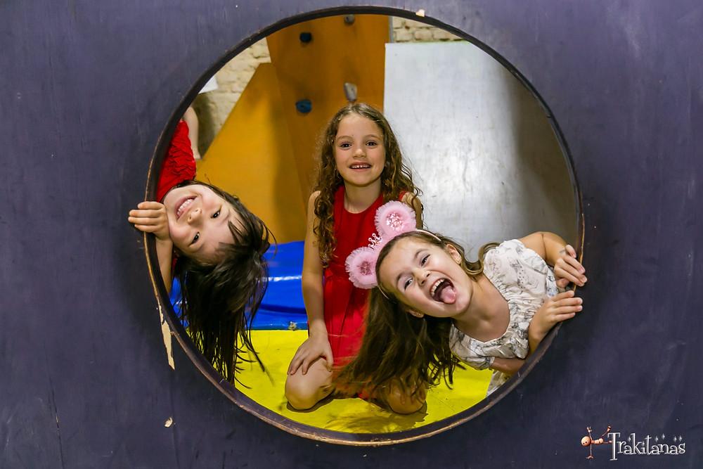 Fotografia infantil espaço climbers