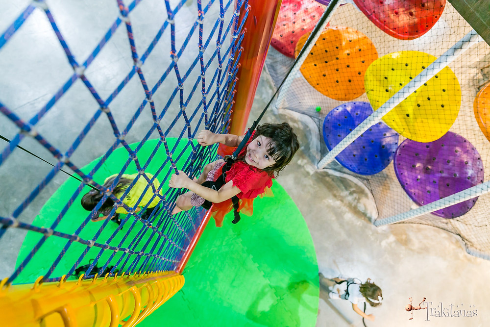 Fotografia infantil buffet climbers