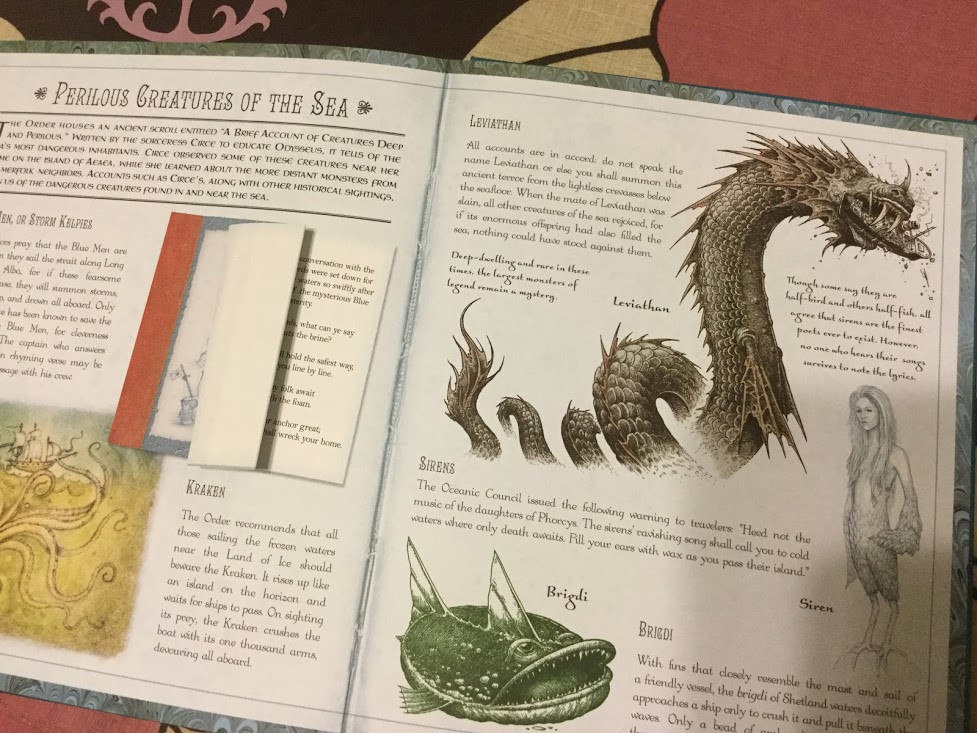 The leviathan information in the book.