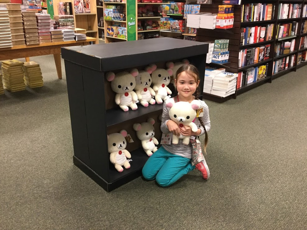Korilakkuma at Barnes & Noble