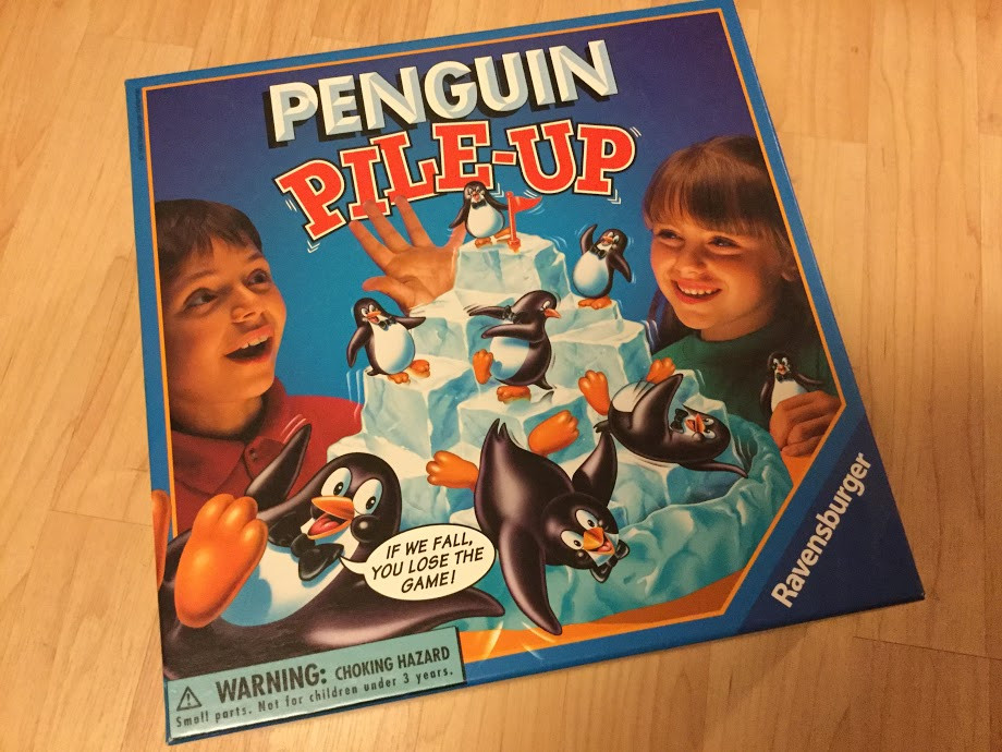 A box of Penguin Pile-up.