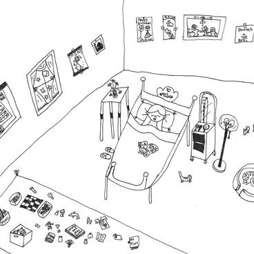 Sweet Dreams in a Girl's Bedroom
