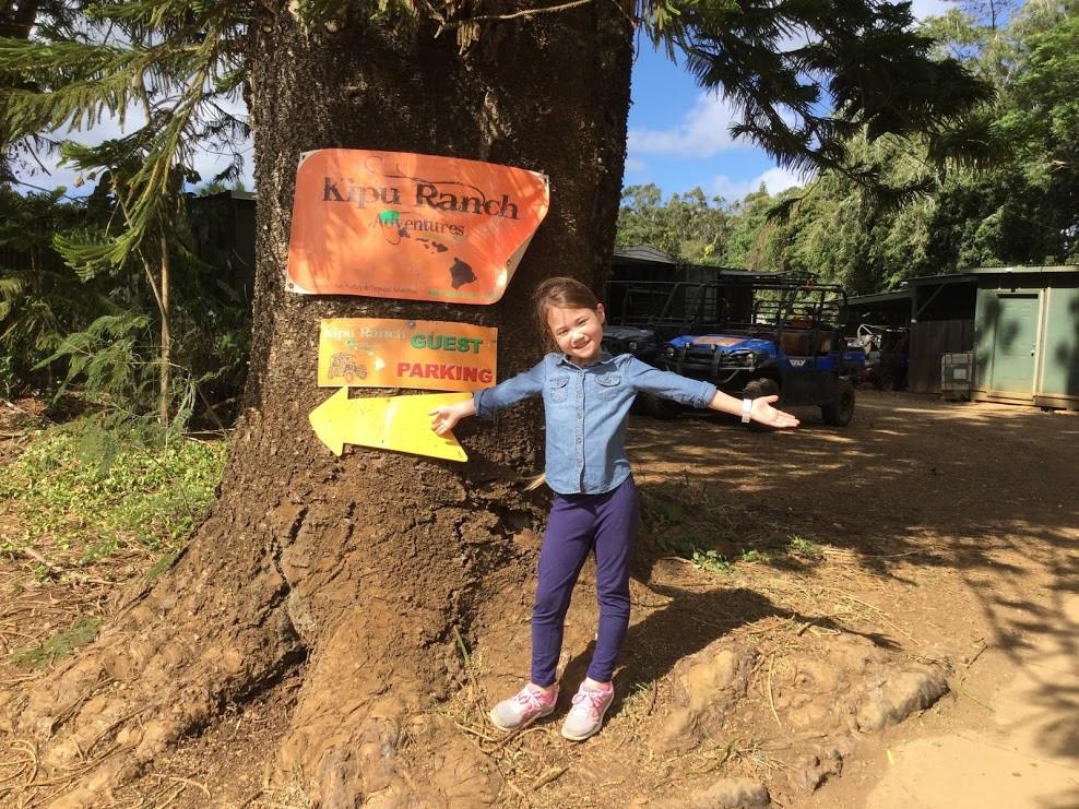 Kipu Ranch signage