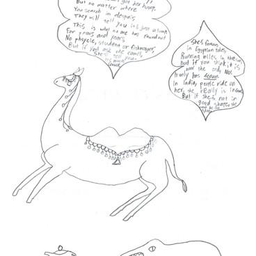 A Camel and a Croc