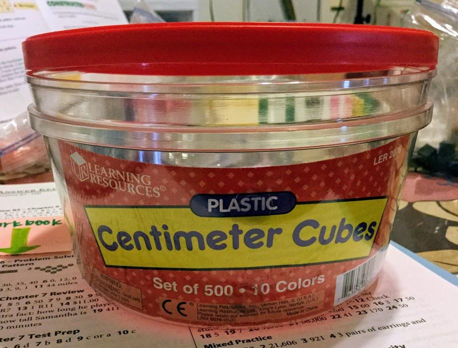 Centimeter Cubes