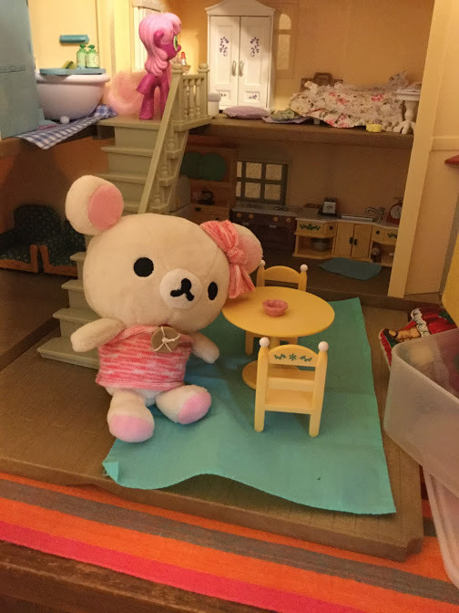 Korilakkuma in a Doll House