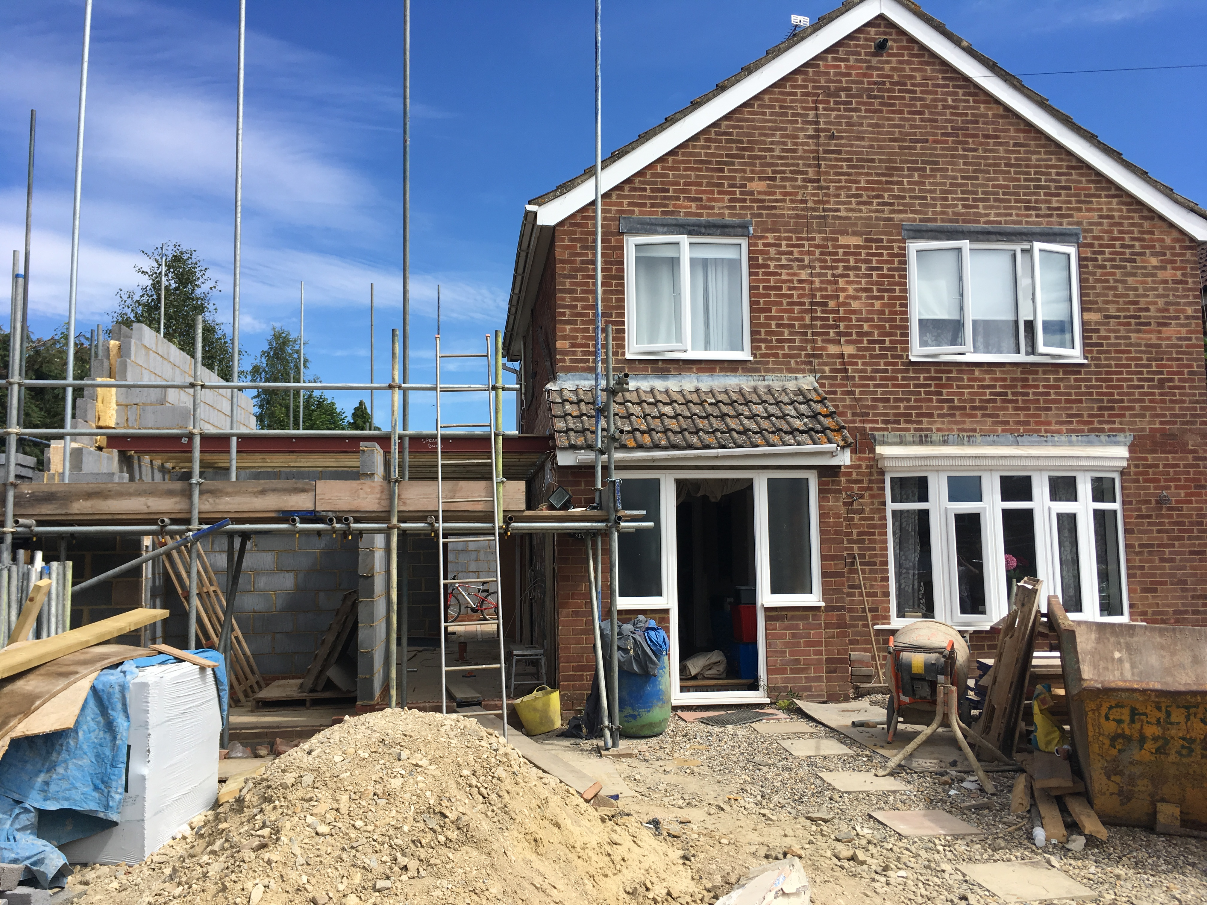 large house extension oxfordshire