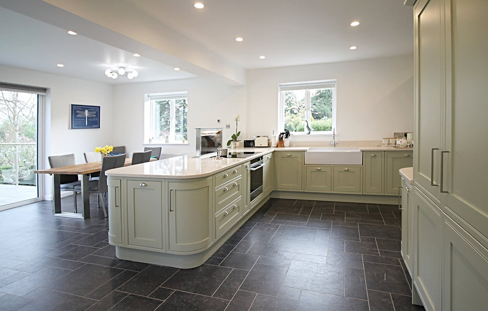 Large open plan house extension