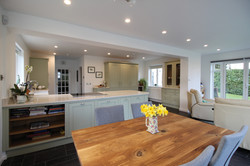 Open plan living house extension