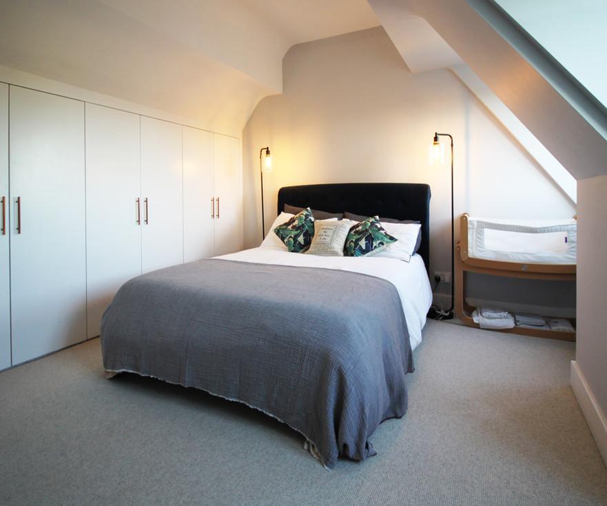 Master bedroom home extension modern loft conversion