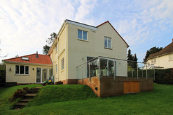 2 storey infill house extension