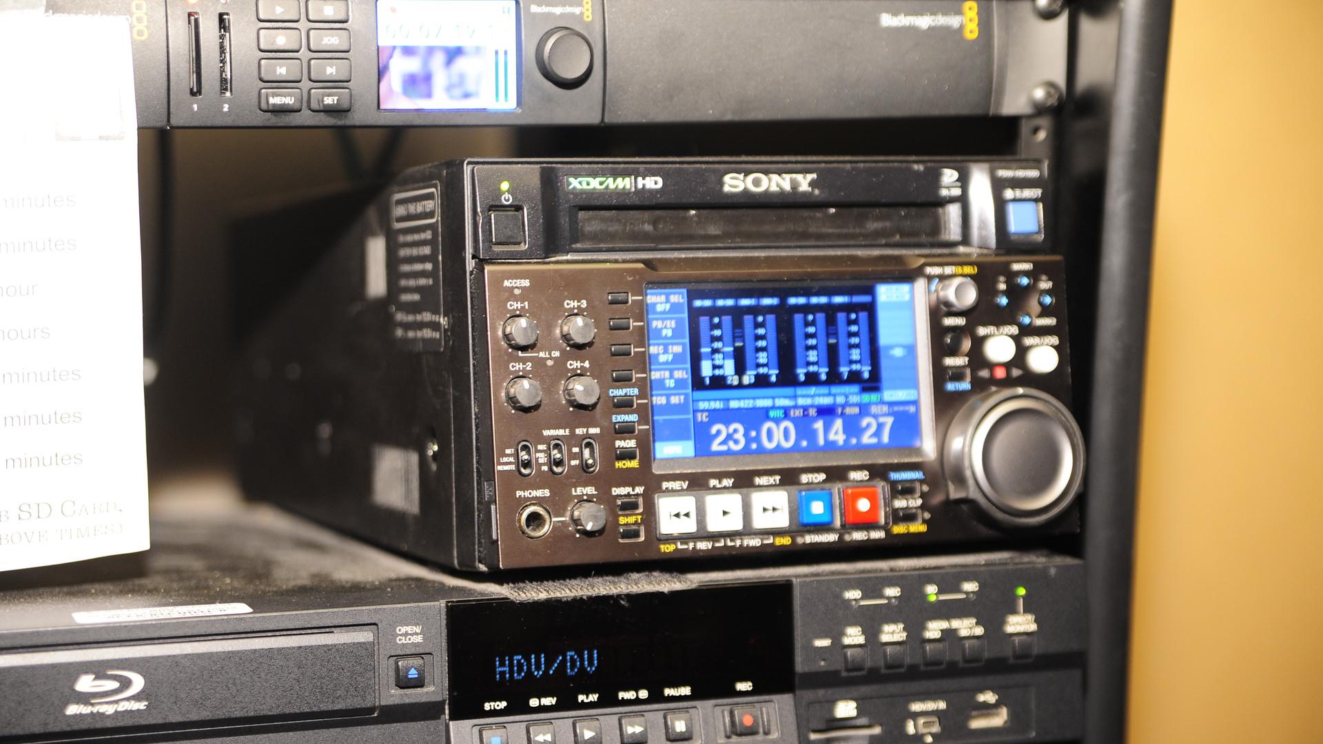 Young Boss Media filming equipment