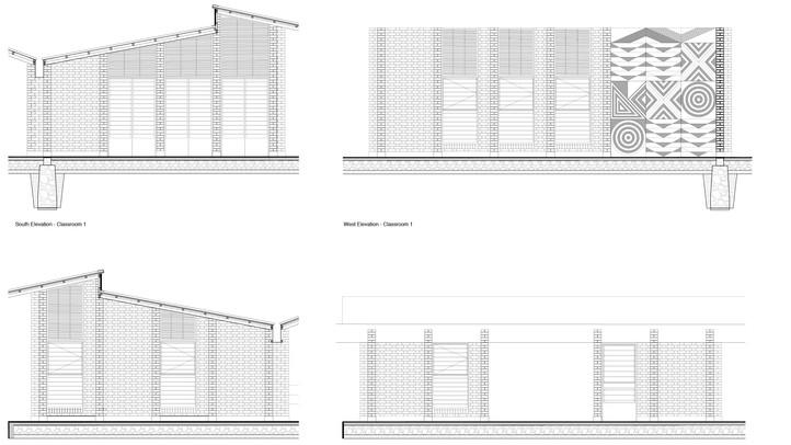 Elevations and façade treatment