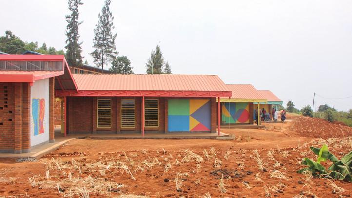 Colourful, engaging facades