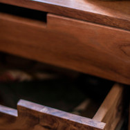 Detail of bedside table
