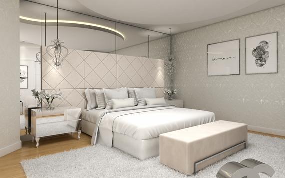 3D quarto de casal