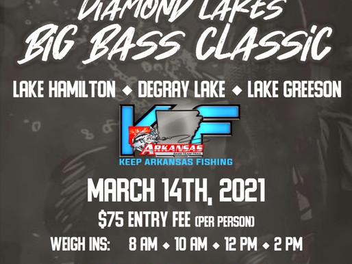 Diamond Lakes Big Bass