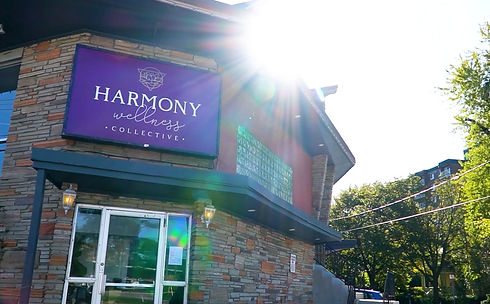 Front Entrance to Harmony Wellness Collective from Victoria Street North Kitchener