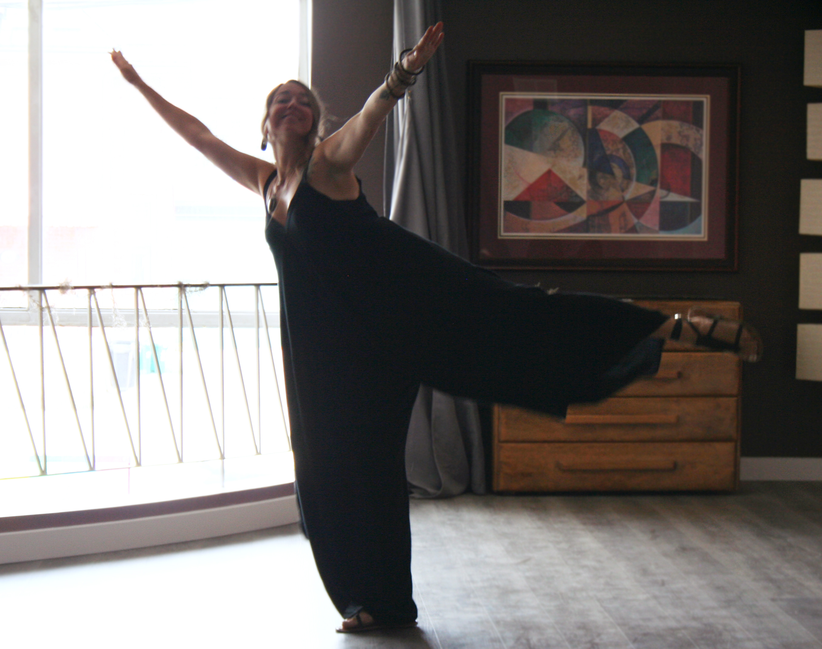 Jenn Grein spreading her wings on the me