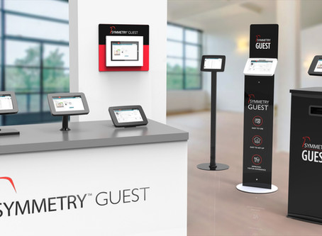 AMAG Technology Expands Visitor Management Offering with new Symmetry™ GUEST Kiosks