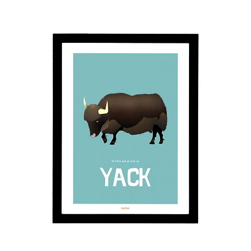 Affiche Le Yack