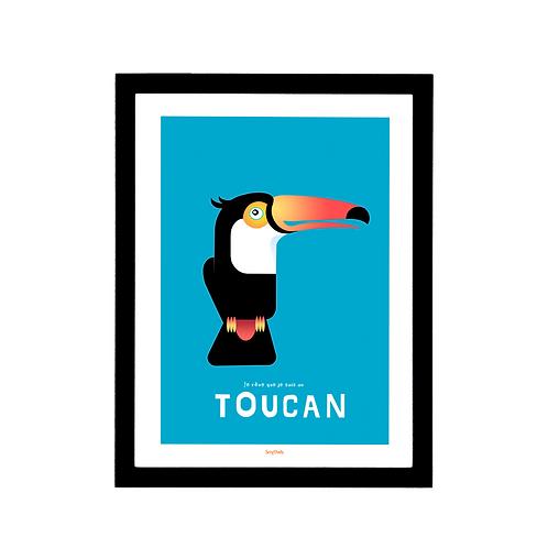 Affiche Le Toucan
