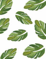 Hojas Verdes Wallpaper