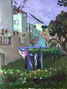Jaffa, 35 x 50 cm, acrylic/canvas