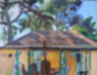 Ein Harod, house N182, 35 x 45 cm, acrylic/canvas