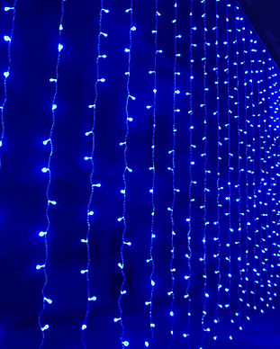 New-3m-x-3m-300-LED-Curtain-Icicle-Strin