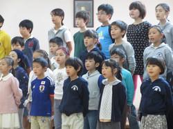 全学年の合唱