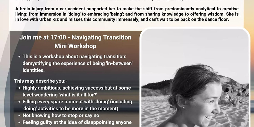 Navigating Transition: Demystifying the experience of being 'in-between' identities