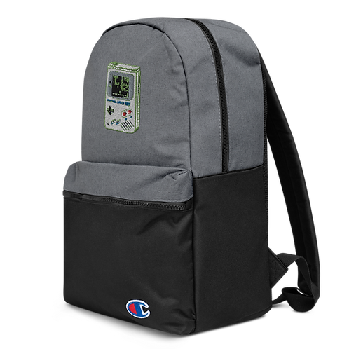 Cheat Codes Embroidered Champion Backpack
