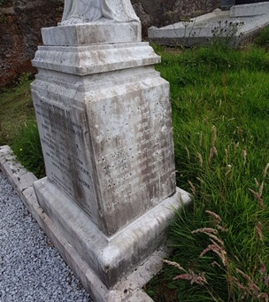 Monument brought back to life
