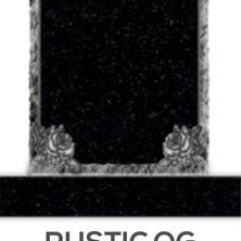 Rustic OG Engraved Rose