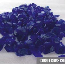 Cobalt Glass Chippings