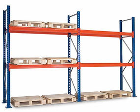 Pallet Racks, Used, Industrial Shelving