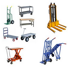 Pallet Jacks, Forklifts, Hand Trucks, Material Handling Equipment