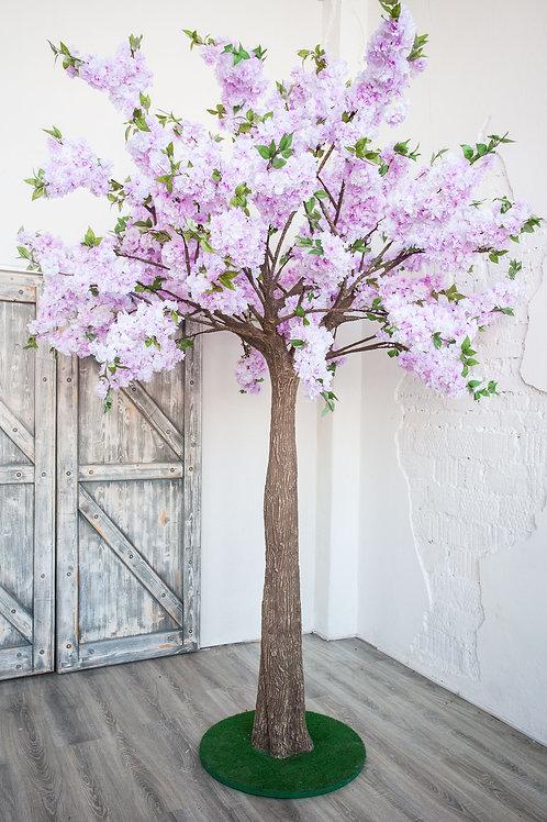 Аренда искусственного дерева Яблоня luxe УльтраФиолет 3 м.
