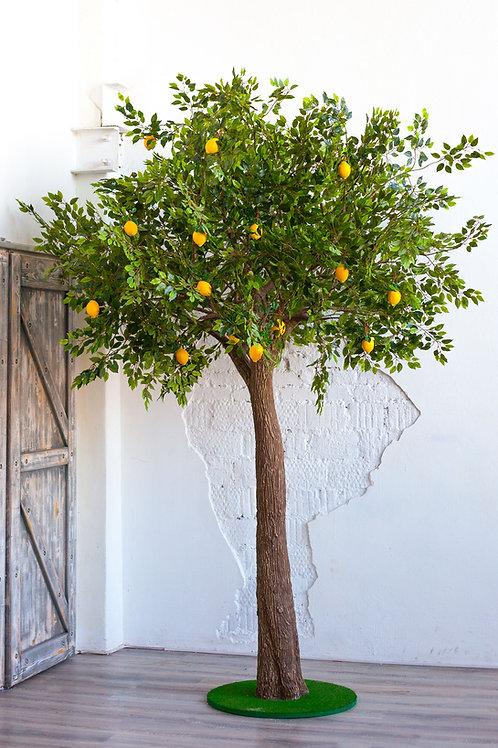 Аренда искусственного дерева Лимон 3 м.