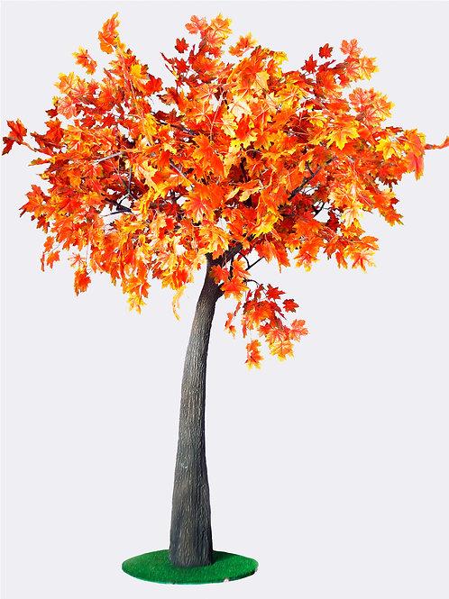 Аренда искусственного дерева Клен осенний 3м.