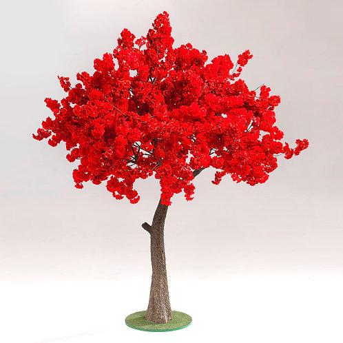 """Аренда искусственного дерева """"Сакура Красная"""" 3м."""
