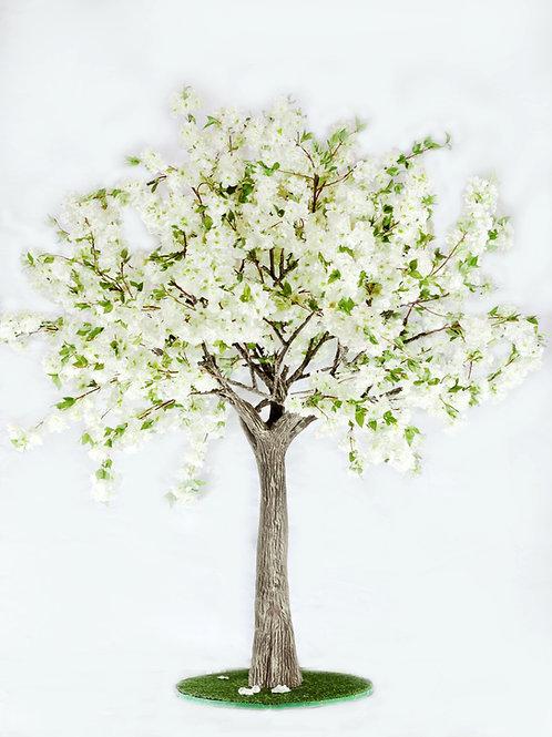 Аренда искусственного дерева Яблоня luxe Белая 2 м.