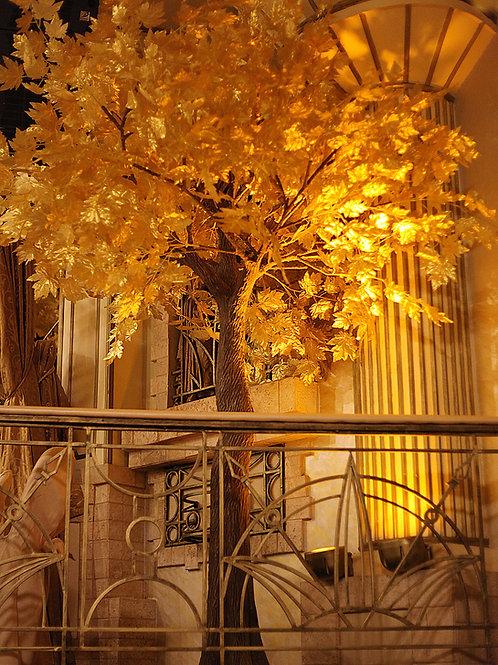 Аренда искусственного дерева Золотой клен 3 м.