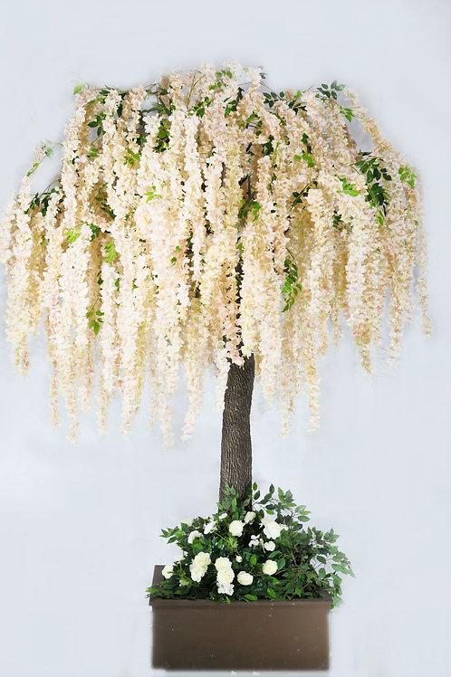 Аренда искусственного дерева Глициния Нежно-Персиковая 3м.