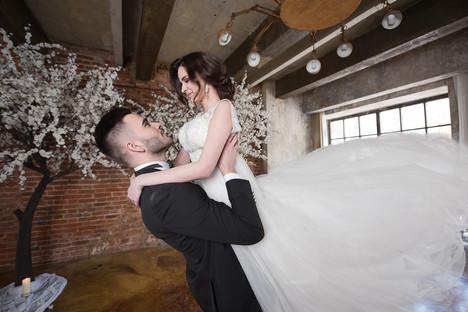Прекрасная свадебная съемка