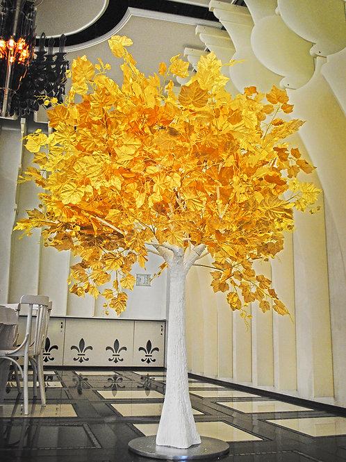 Аренда искусственного дерева Золотое  2м.