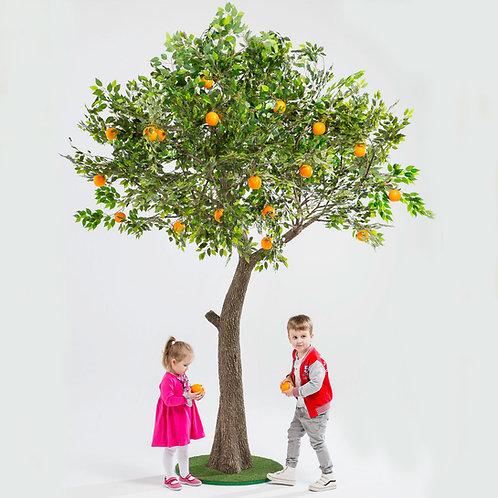 Аренда искусственного дерева Апельсин 3м.