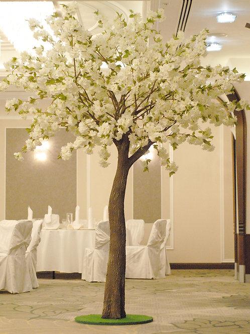 Аренда искусственного дерева Яблоня luxe Белая 3 м.